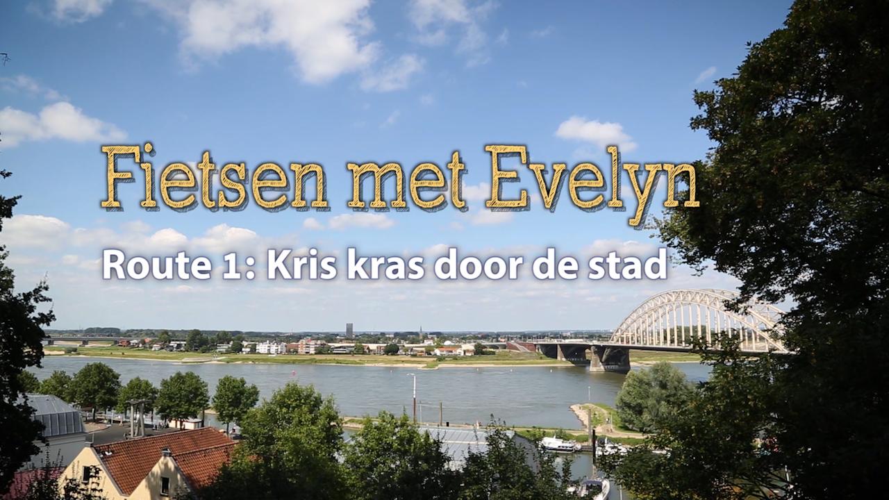 Swon het seniorennetwerk - Fietsen met Evelyn, Route 1: het centrum van Nijmegen